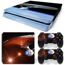 Star Trek PS4 Slim Skin Vinyl Sticker Decal