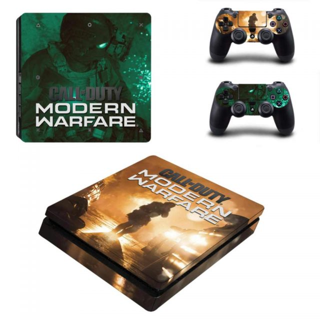 Call Of Duty Modern Warfare Ps4 Slim Skin Sticker Cover Consoleskins Co