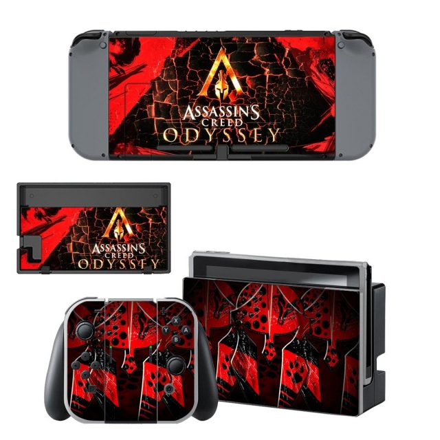 Assassins Creed Odyssey Decal Skin Sticker For Nintendo Switch