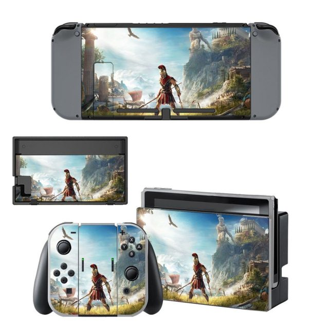 Assassin S Creed Odyssey Skin Sticker Decal For Nintendo Switch