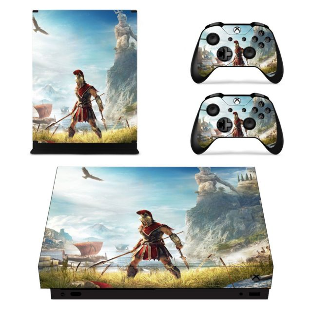 Assassin S Creed Odyssey Skin Sticker For Xbox One X And