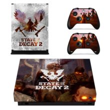 Contollers Skin Sticker – State Of Decay 2 Xbox One X  Decal