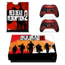 Controllers Skin Sticker Decal - Red Dead Redemption 2 for Xbox One X