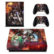 Controllers Skin Sticker For  Bloodstained Ritual Of The Night Xbox One X