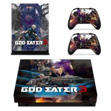 Controllers Skin Sticker For God Eater 3 Xbox One X
