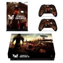 Controllers Skin Sticker For State Of Decay 2 Decal For Xbox One X