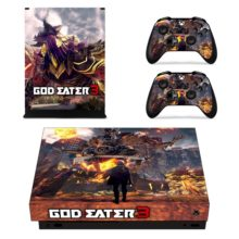 Controllers Skin Sticker – God Eater 3 Decal For Xbox One X