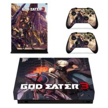 Controllers Skin Sticker – God Eater 3 Xbox One X