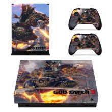 Controllers Skin Sticker – God Eater 3 Xbox One X Decal