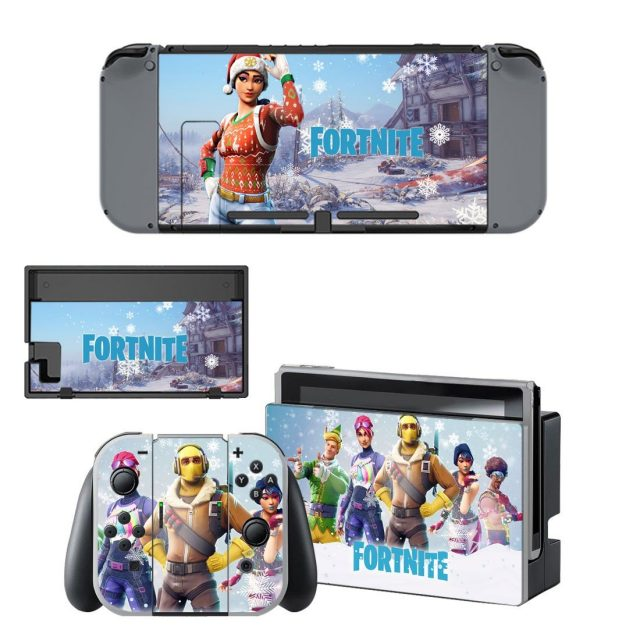 Controllers Console Fortnite Decal Skin Sticker For Nintendo Switch Consoleskins Co