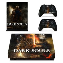 Dark Souls for Xbox One X - Skin Sticker Decal Controllers