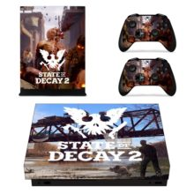 State of Decay 2 Decal Skin Sticker For Xbox One X Controllers