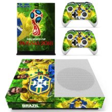2019 FIFA World Cup CBF Neymar Sticker For Xbox One S And Controllers
