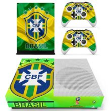 Brazilian Football Confederation Cover For Xbox One S