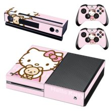 Hello Kitty Sticker For Xbox One And Controllers
