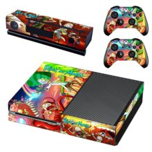 Rick and Morty Sticker For Xbox One And Controllers