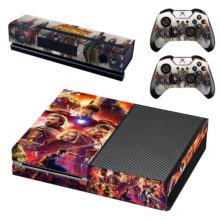 Skin Cover for Xbox One - Avengers Infinity War Design 1