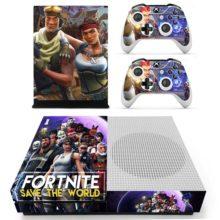 Skin Cover for Xbox One S - Fortnite Design 42