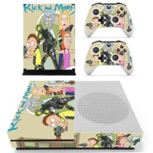 Skin Cover for Xbox One S - Rick and Morty Design 3