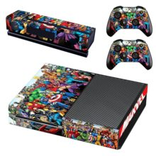 Super Heroes Sticker For Xbox One And Controllers