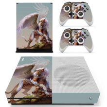 Winged Lion Cover For Xbox One S