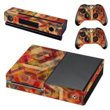 Wood Spiral Cover For Xbox One