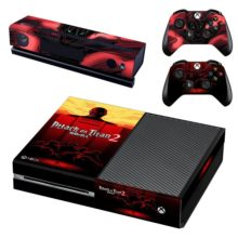 Xbox One And Controllers Skin Cover Attack On Titan 2