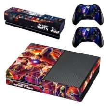 Xbox One And Controllers Skin Cover Avengers Infinity War