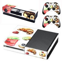 Xbox One And Controllers Skin Cover Fast Food