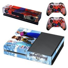 Xbox One And Controllers Skin Cover Kingdom Hearts 3
