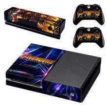 Xbox One And Controllers Skin Sticker - Avengers Infinity War