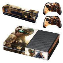 Xbox One And Controllers Skin Sticker - Battlefield 5