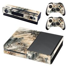 Xbox One And Controllers Skin Sticker - Hill