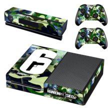 Xbox One And Controllers Skin Sticker - Rainbow Six Siege
