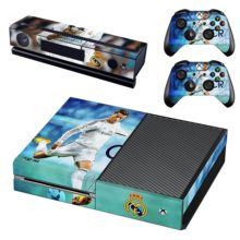 Xbox One And Controllers Skin Sticker - Real Madrid