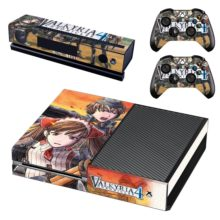Xbox One And Controllers Skin Sticker - Valkyria Chronicles 4