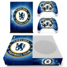 Xbox One S And Controllers Skin Cover Chelsea FC