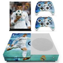Xbox One S And Controllers Skin Cover Cristiano Ronaldo