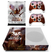 Xbox One S And Controllers Skin Cover State of Decay 2