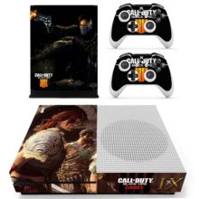 Xbox One S And Controllers Skin Sticker - Call of Duty black ops zombies