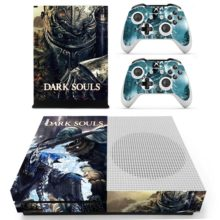 Xbox One S And Controllers Skin Sticker - Dark Souls
