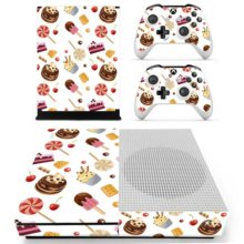 Xbox One S And Controllers Skin Sticker - Fast Food