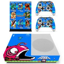 Xbox One S And Controllers Skin Sticker - Mega Man 2