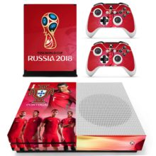 Xbox One S Skin Cover - 2018 FIFA World Cup Portugal