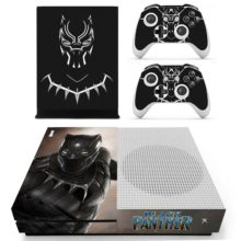 Xbox One S Skin Cover - Black Panther