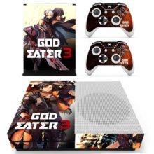Xbox One S Skin Cover - God Eater 3 Design 4