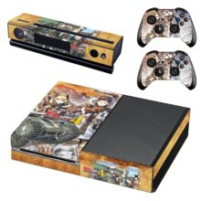 Xbox One Skin Cover - Valkyria Chronicles 4