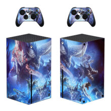 Monster Hunter World Iceborne Xbox Series X Skin Sticker Decal