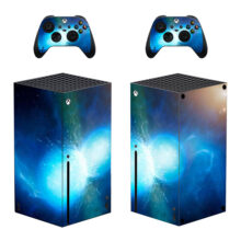 Galaxy Style Skin Sticker For Xbox Series X And Controllers