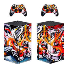 Giraffiti Style Skin Sticker Decal For Xbox Series X